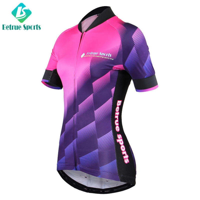 Betrue quality womens cycling jersey sale gradient for sport-2