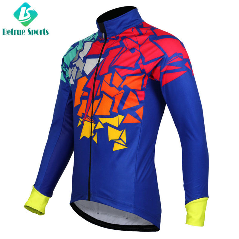 night mens waterproof cycling jacket windproof manufacturer for bike-2