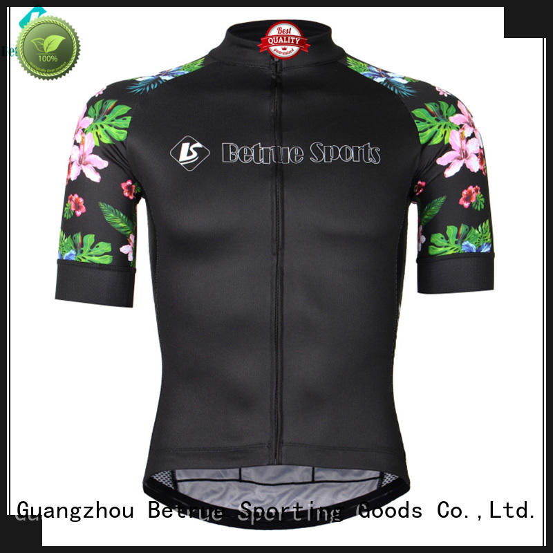 cross funny mens cycling jerseys flowers for men