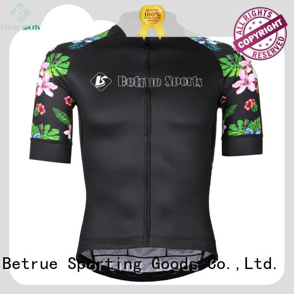 Betrue snowy mens road cycling jersey manufacturer for women