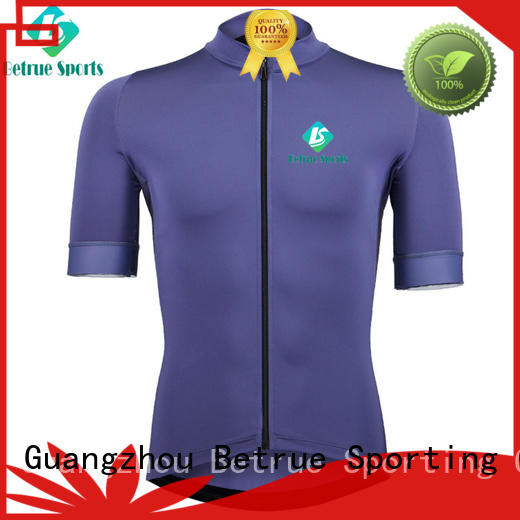snowy mens short sleeve cycling jerseys wholesale for bike Betrue