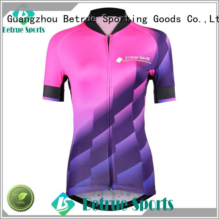 Betrue light custom bike jerseys factory for bike