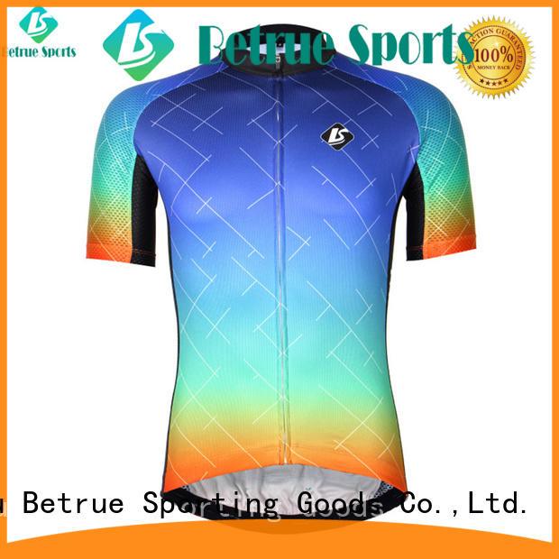Betrue night best mens cycling jersey manufacturer for men