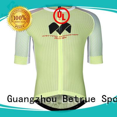 Betrue snowy mens mountain bike jerseys supplier for men