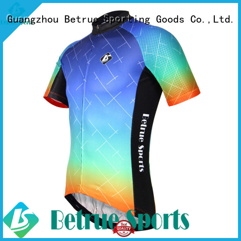 night purple cycling jersey men's summer for bike Betrue