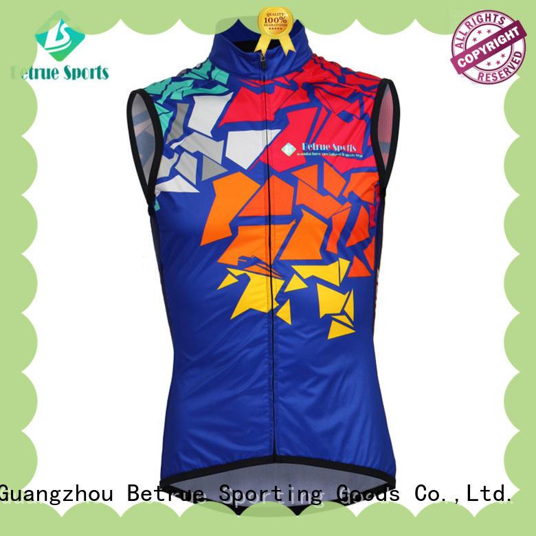Betrue windproof cycling vest manufacturer for bike
