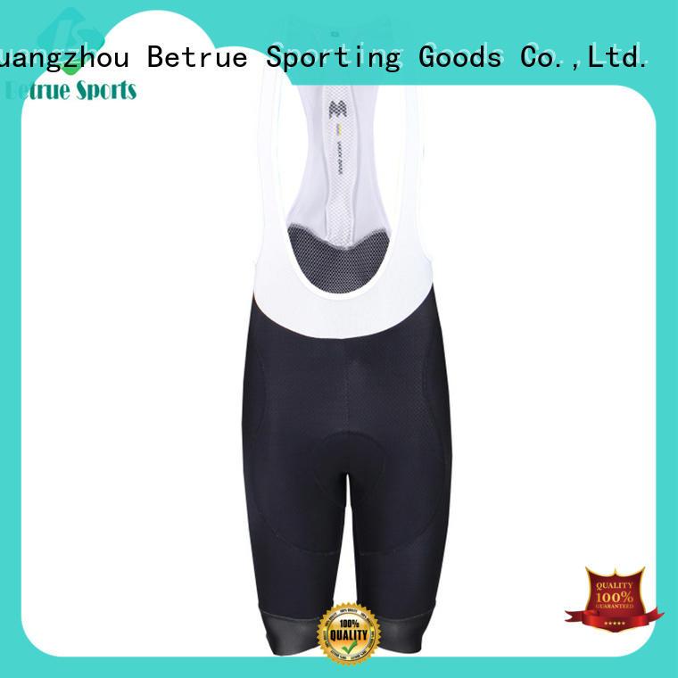 Custom cycling bib shorts fabric manufacturers for men