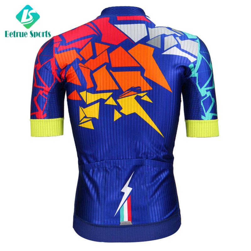 Betrue flowers cycling mens jerseys manufacturer for men-3