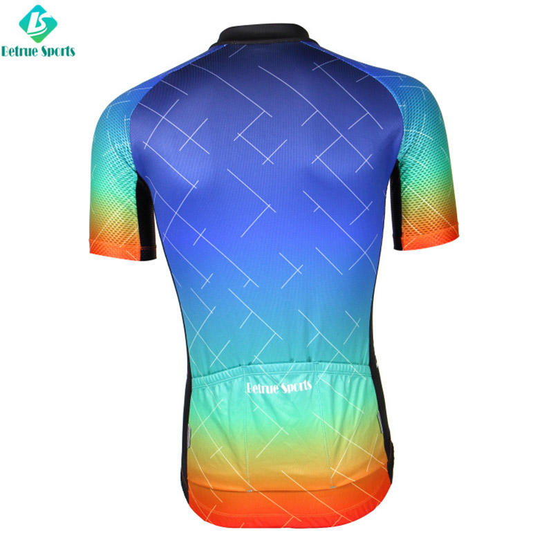 Betrue night cool mens cycling jerseys customized for sport-3