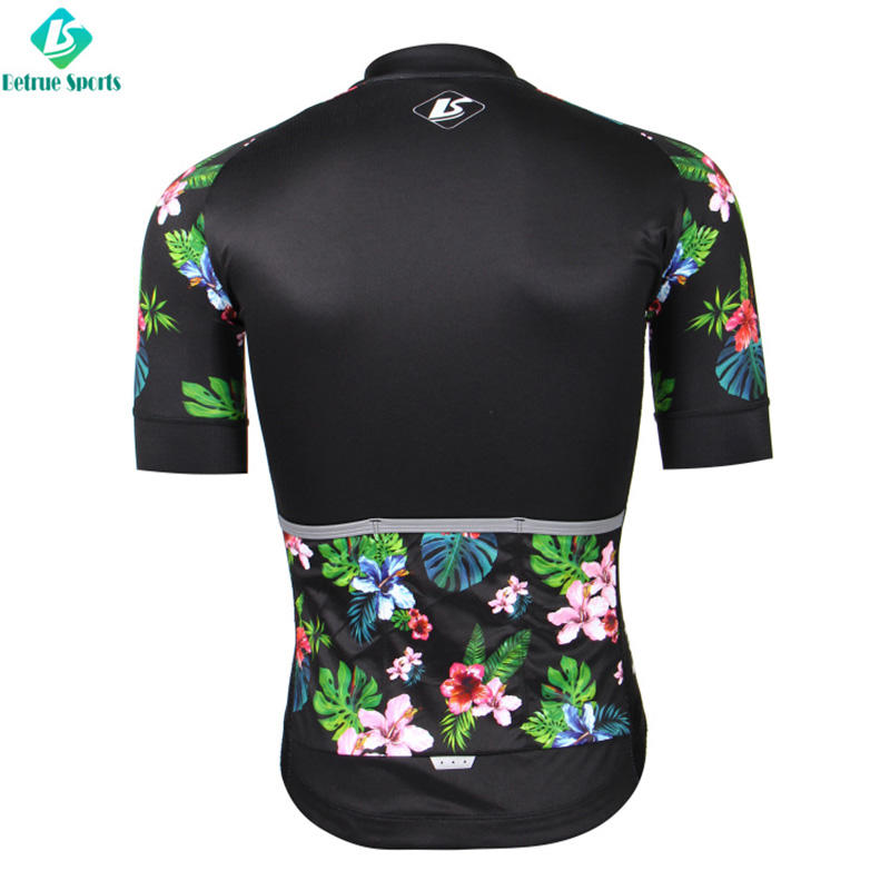 Betrue fleece mens road cycling jersey wholesale for sport-3