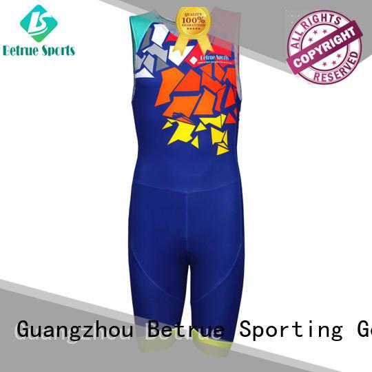 Latest triathlon suit mens quality Supply for bike