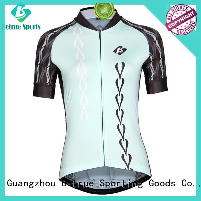 Wholesale ladies custom cycling jersey Betrue Brand