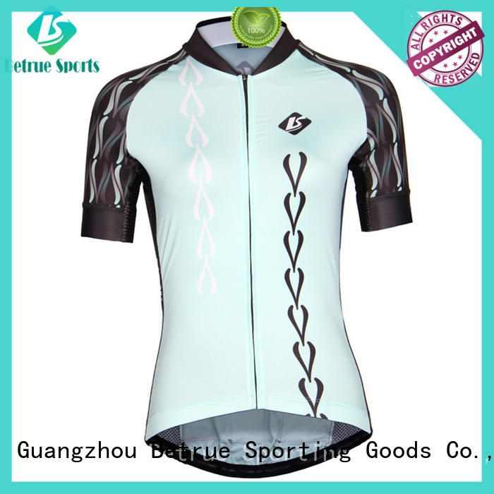 Wholesale ladies custom cycling jersey Betrue Brand