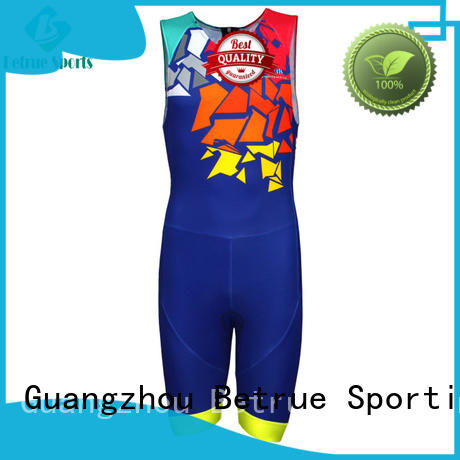 Betrue Brand suits sleeveless custom triathlon race suit