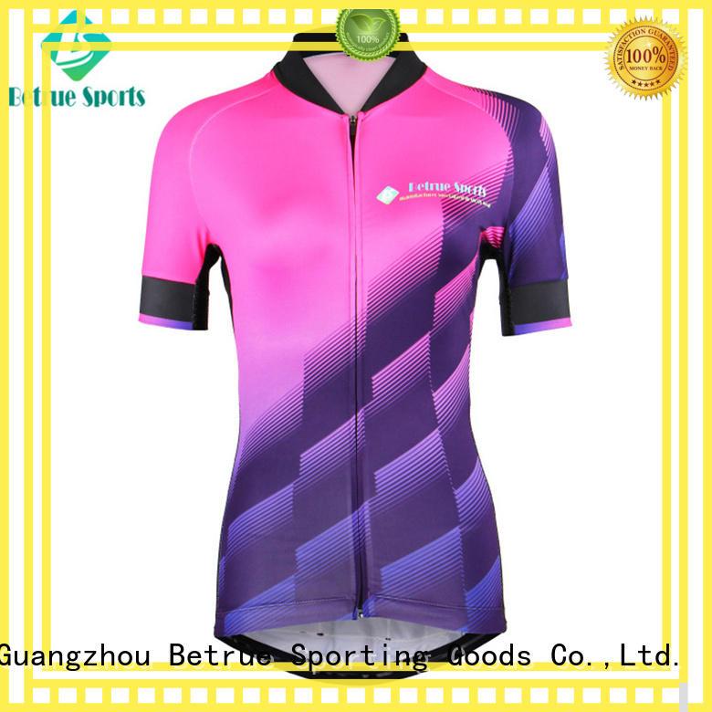 Betrue corrugated womens bike jersey factory for sport