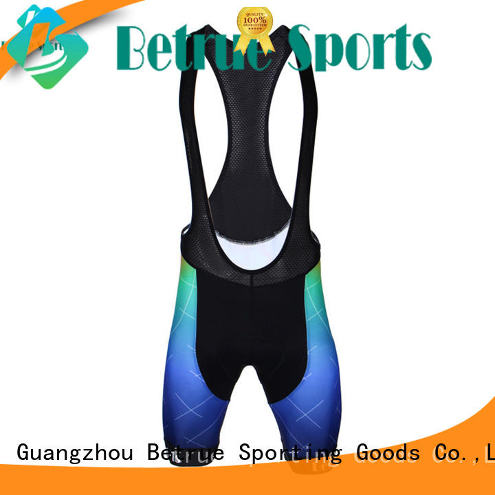 Betrue Wholesale mens cycling bib shorts for business for women