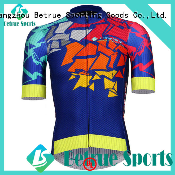 Betrue night retro cycling jerseys customized for bike