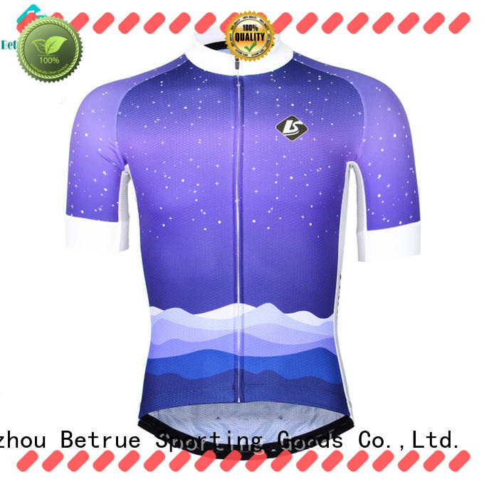 Betrue colorful best mens cycling jersey customized for women