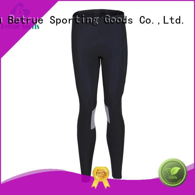 breathable pants Betrue Brand padded bike pants factory