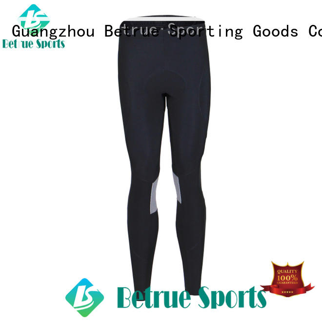 Betrue breathable padded cycling pants supplier for bike