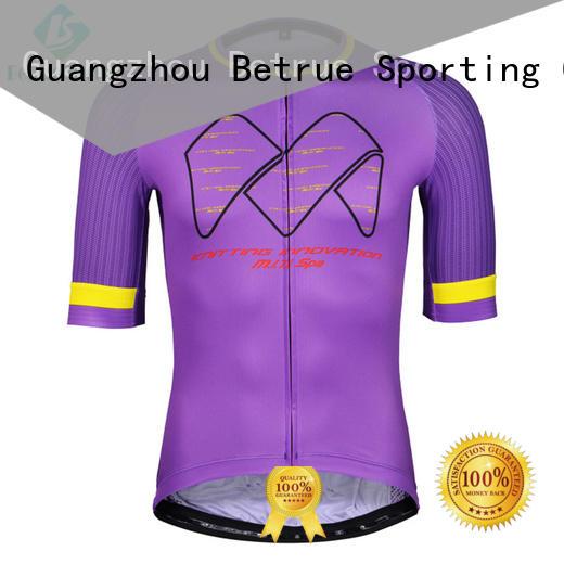 Betrue purple mtb jersey light for women