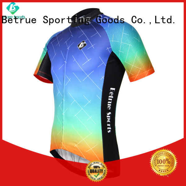 summer weight long sleeve cycling jersey end Betrue company