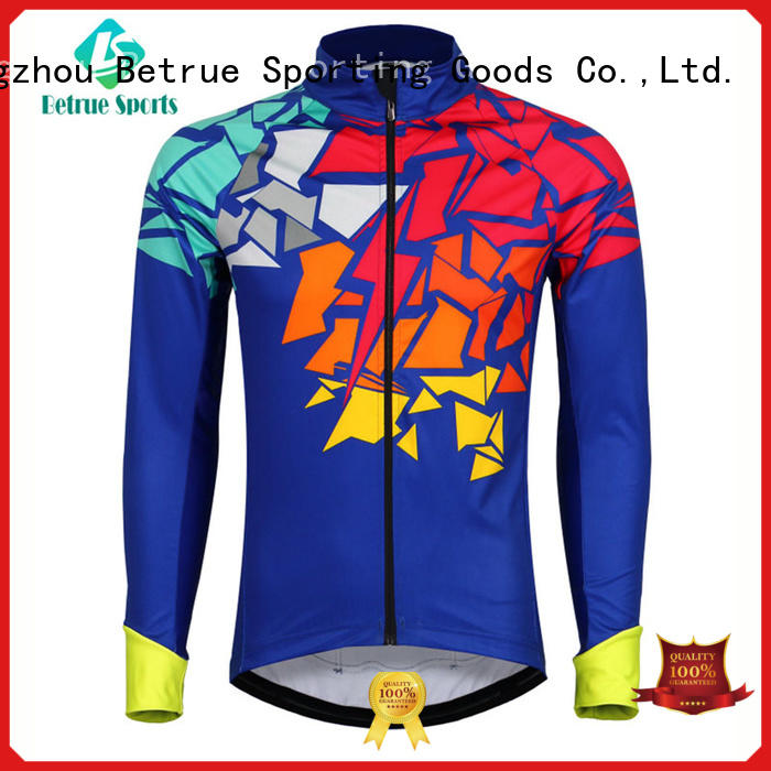 Betrue end cycling jackets manufacturers for sport