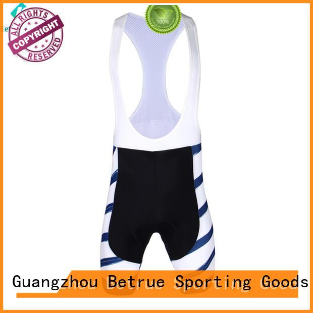 Betrue fabric cycling bib shorts customized for sport
