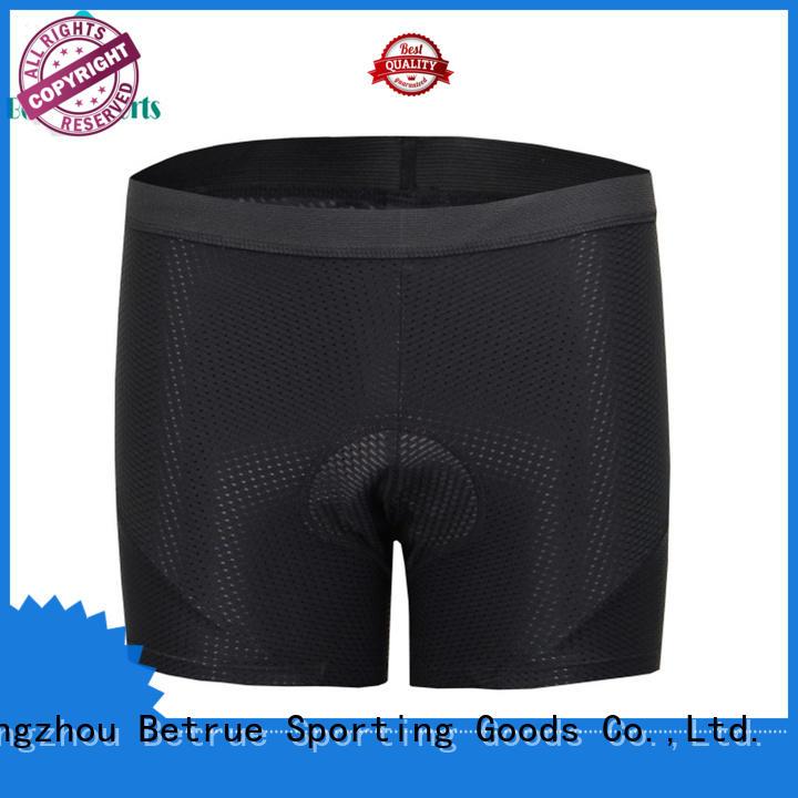Betrue Brand cycling women mens padded underwear underwear supplier