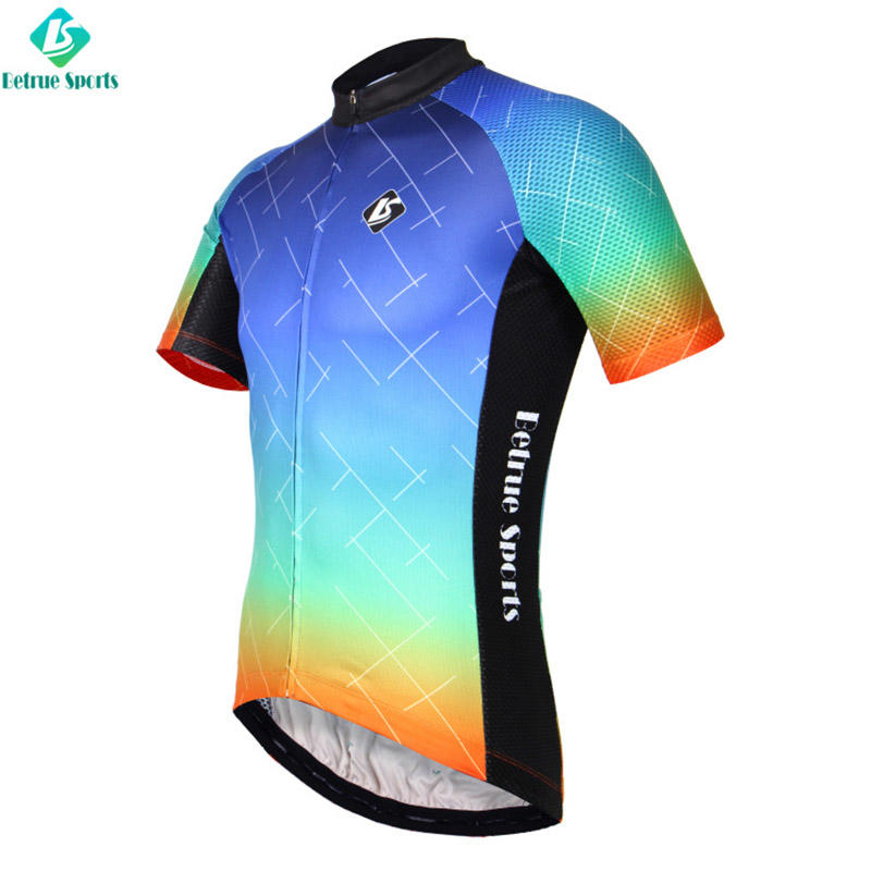 Betrue night cool mens cycling jerseys customized for sport-2
