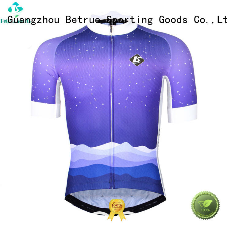 night mens long sleeve cycling jersey customized for sport