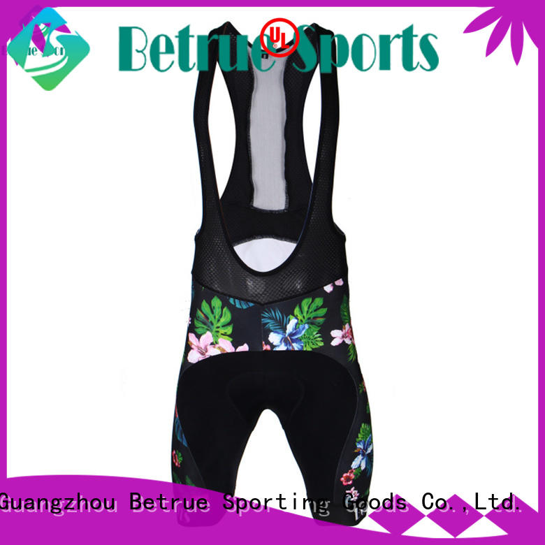 Betrue tech best bib shorts supplier for women