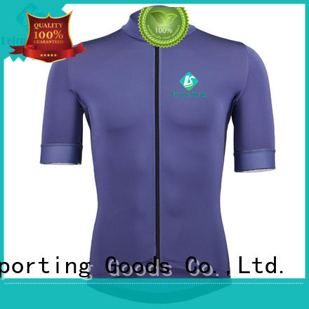 Betrue long mens short sleeve cycling jersey manufacturer for men