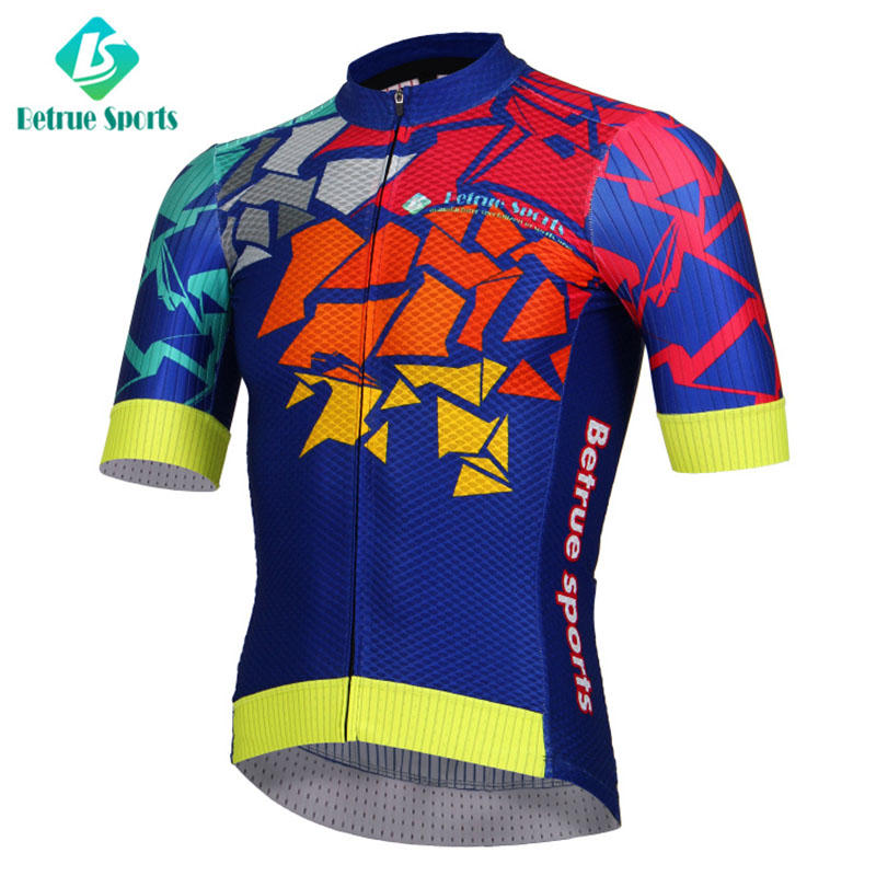 Betrue flowers cycling mens jerseys manufacturer for men-2