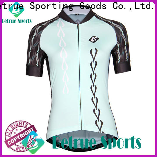 High-quality custom bike jerseys blue factory for sport