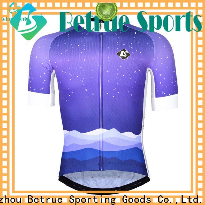 Betrue fleece bike jerseys mens manufacturers for bike