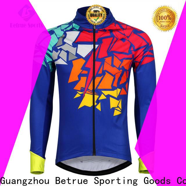 Betrue italian mens cycling jacket factory for bike