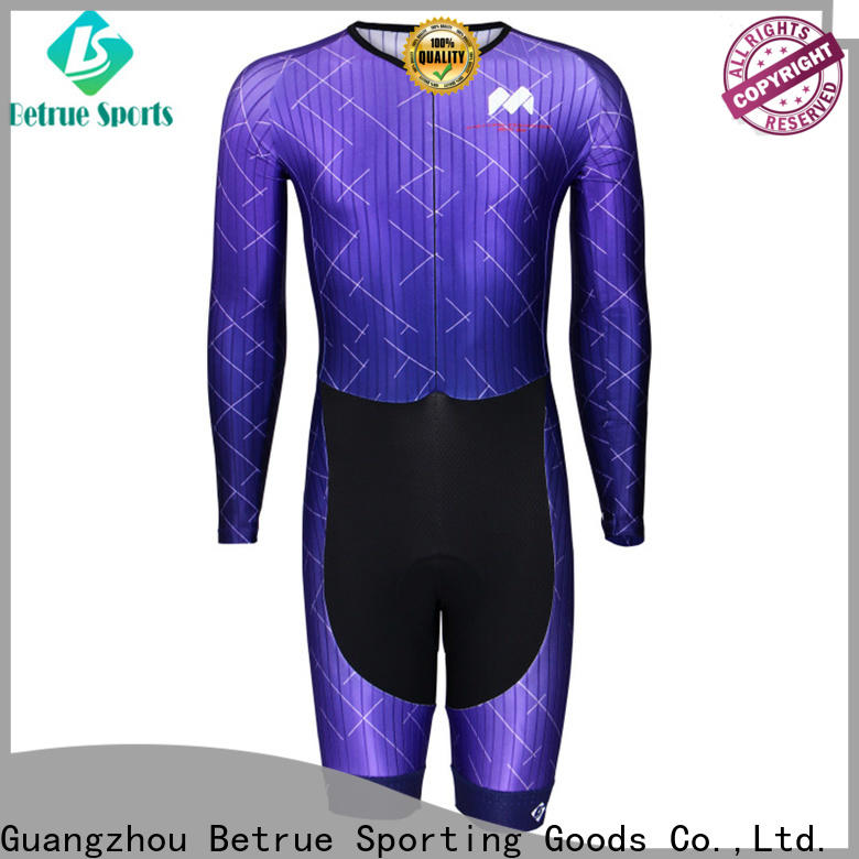 Betrue quality cycling skinsuit manufacturers for bike