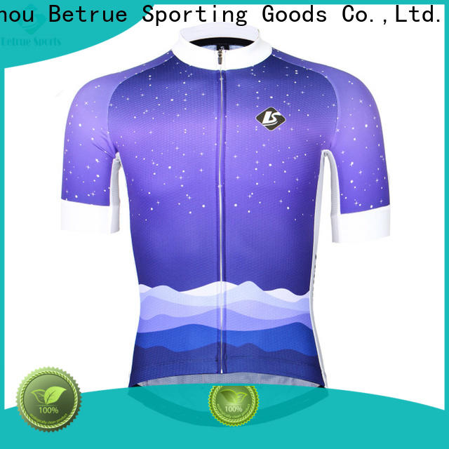 Betrue snowy mens road cycling jersey Supply for men