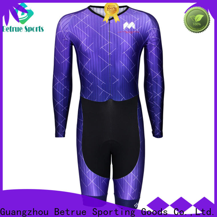 Betrue quality cycling skinsuit factory for bike