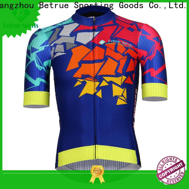 Betrue snowy mens mountain bike jerseys Supply for bike