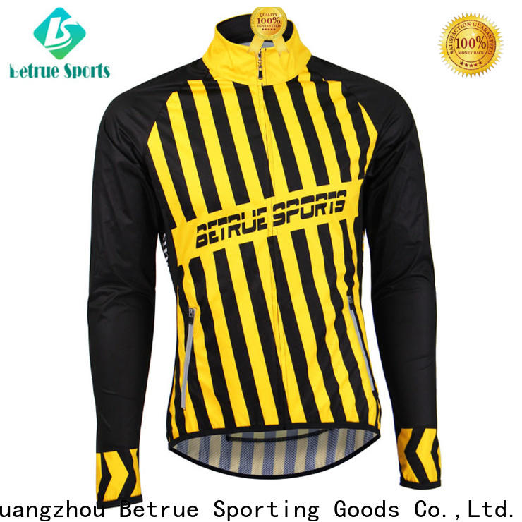 Betrue sleeve cycling jackets Supply for sport