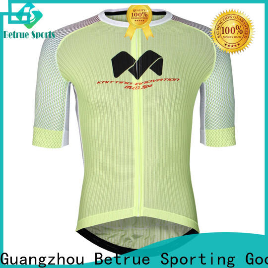 Betrue night mens bicycle jerseys Supply for sport