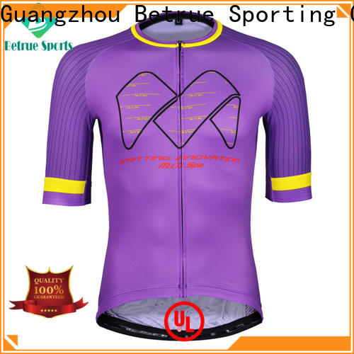 Betrue Latest best mens cycling jersey factory for sport