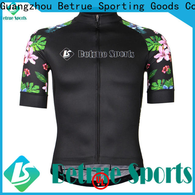 Betrue snowy mens bicycle jerseys for business for bike
